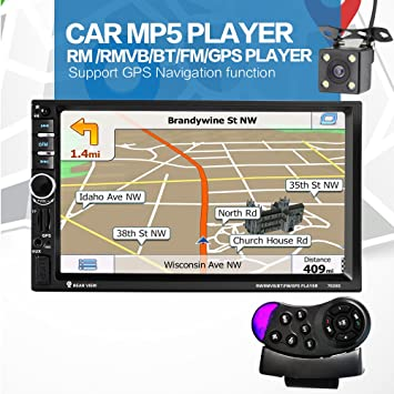 GPS 7020G, 7 pulgadas, con Bluetooth, para el coche: Amazon.es ...