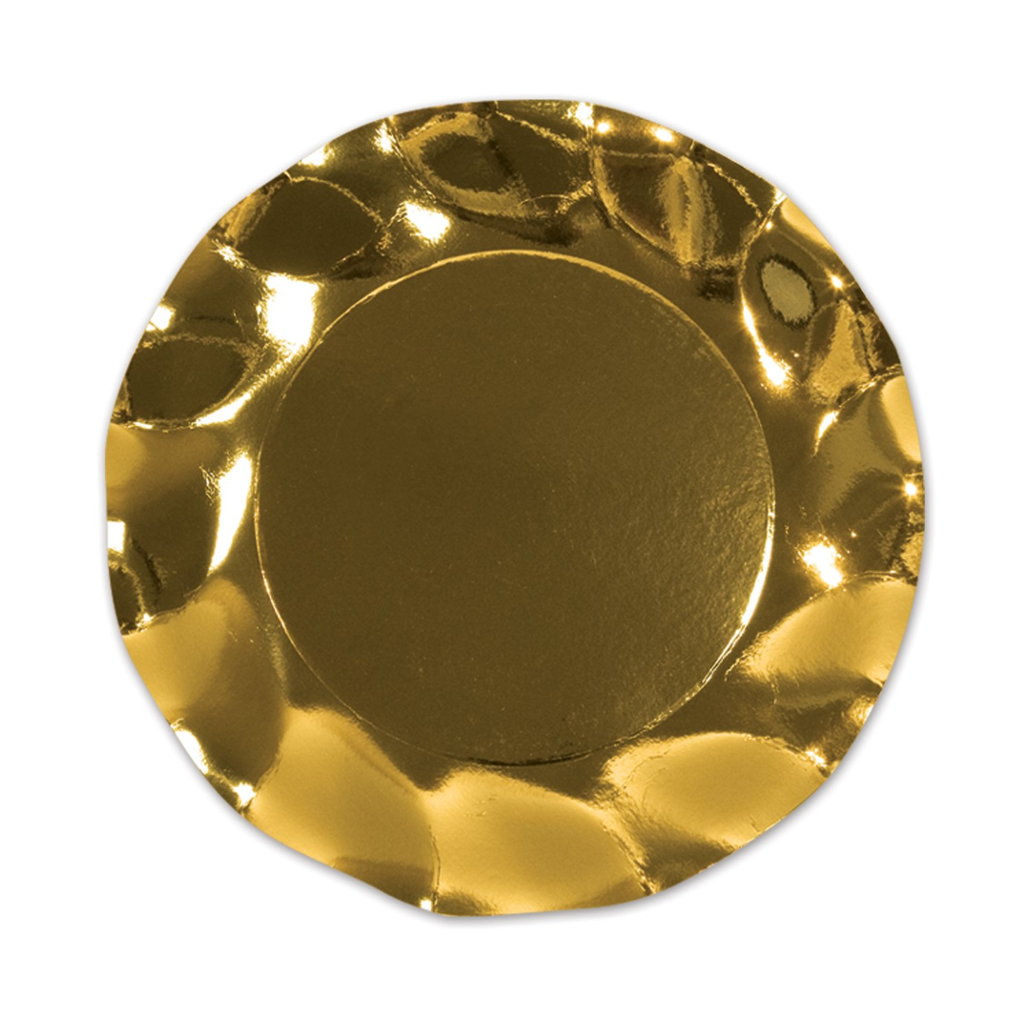 sc 1 st  Amazon.com & Amazon.com: Metallic Gold Plates (10/Pkg): Kitchen u0026 Dining