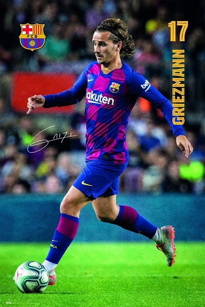 Tainsi FC Barcelona 2019/2020 Griezmann Poster-11 x 17 ...
