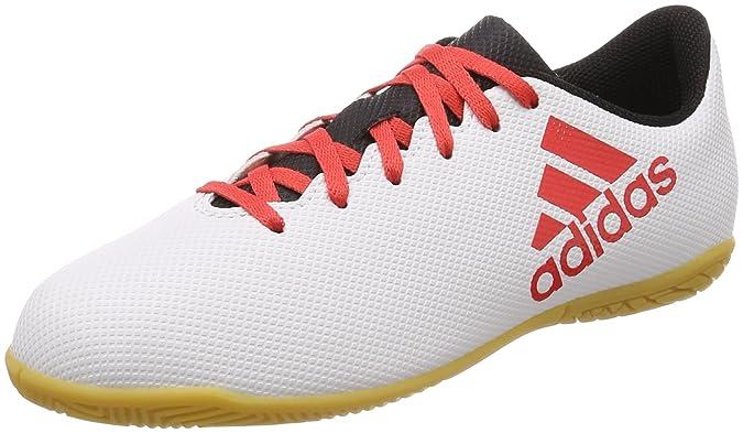 Adidas X Tango 17.4 In J, Zapatillas de Fútbol Sala Unisex Adulto, Gris (Gris/Correa/Negbas 000), 38 2/3 EU