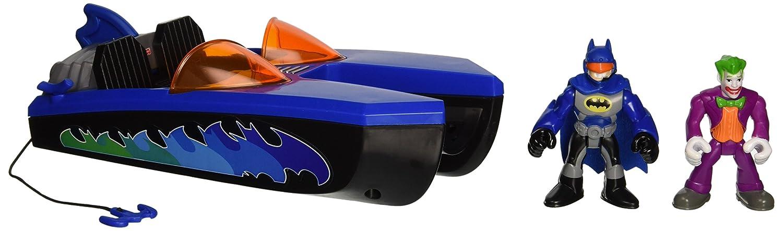 Fisher-Price Imaginext Super Friends Batboat /&s of Joker /& Batman Fisher Price X8033