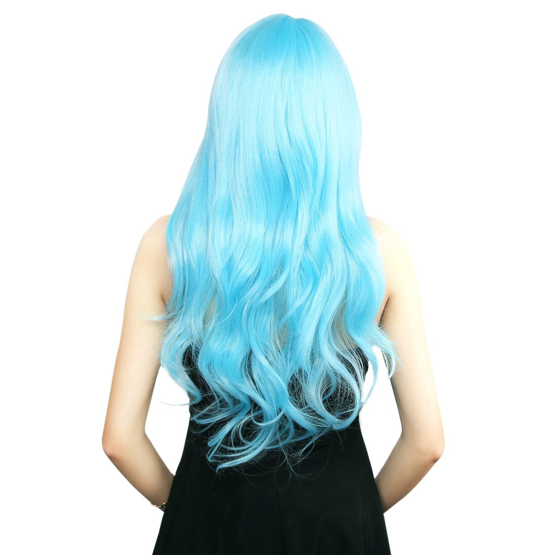 Neitsi 100/% Kanekalon Fiber 14 35cm Womens Cosplay Short Synthetic BOB Hair Wigs Halloween Party Black