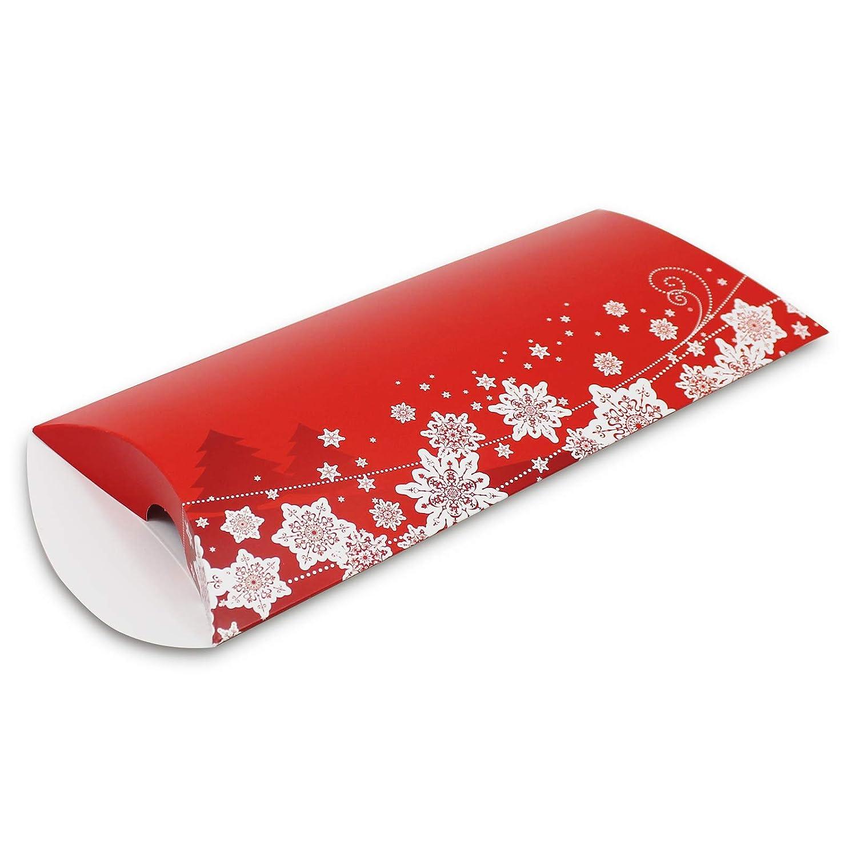 Kissenbox 10er Pack Kissenverpackung Weihnachten Stern gro/ß Geschenkbox Geschenkverpackung