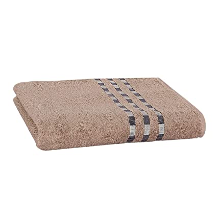 Delindo Lifestyle Juego de toallas COLARES madera de cedro - marrón, 1 toallas de baño