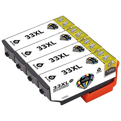 Pictech reemplazo para Epson 33XL cartuchos de tinta para Epson ...