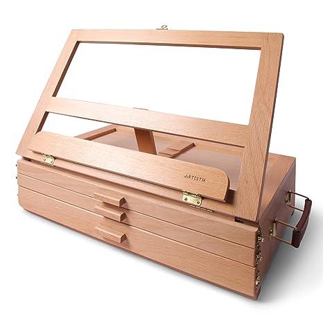 Caballete de madera para mesa de escritorio, 30 x 40 cm, hecho a ...