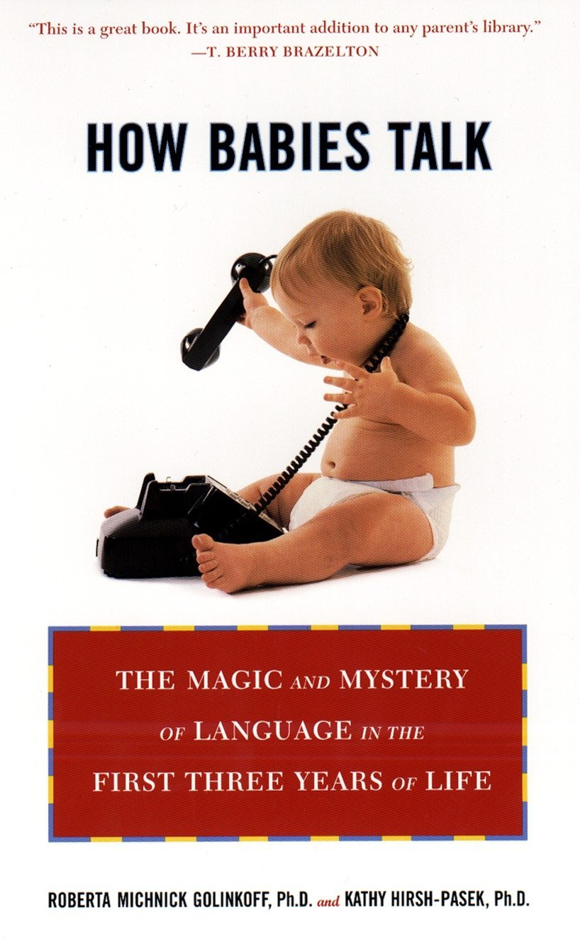 How Babies Talk: The Magic and Mystery of Language in the First Three Years of Life by Plume