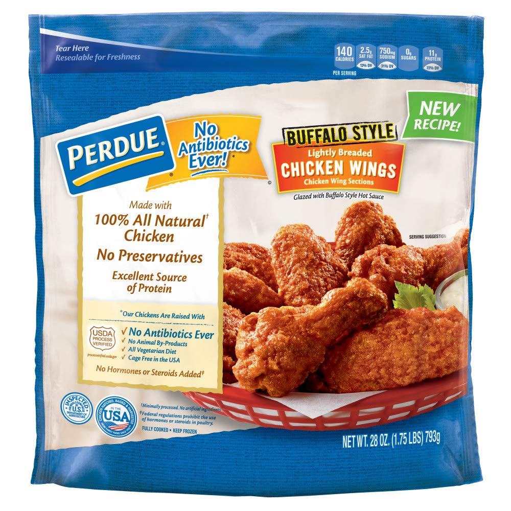 Perdue, Roasted Buffalo Style Glazed Chicken Wings, 28 oz (Frozen)