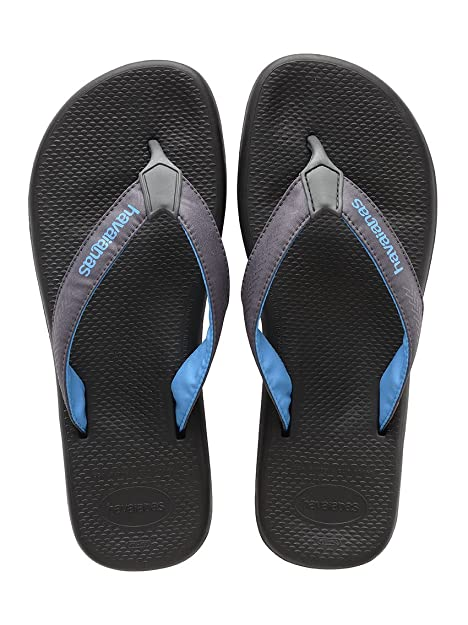 HAVAIANAS Da Uomo Surf Pro Nero Infradito