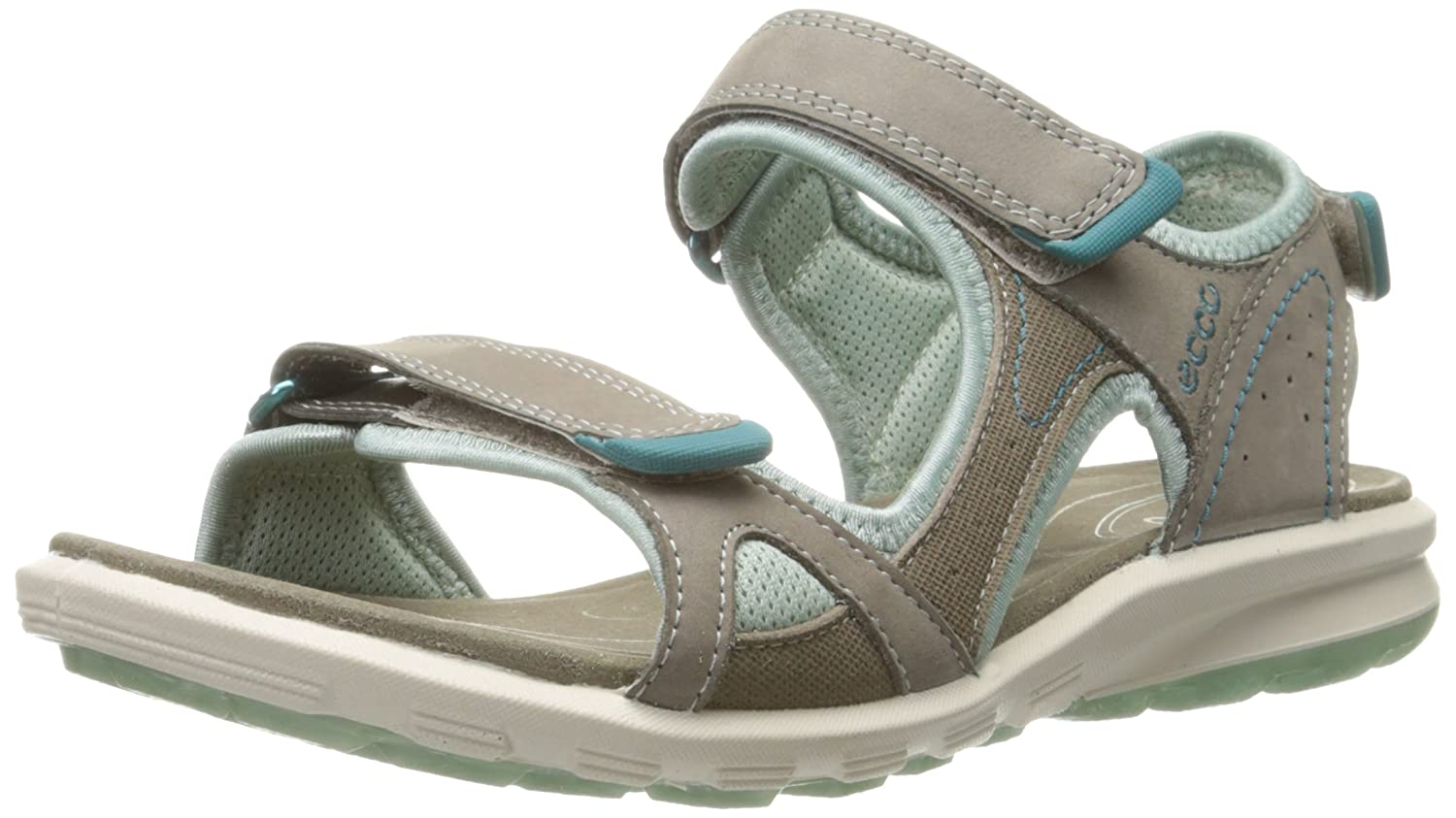 Amazon.com | ECCO Women's Cruise Sport Sandal, Warm Grey, 36 EU/5-5.5 M US  | Sport Sandals & Slides