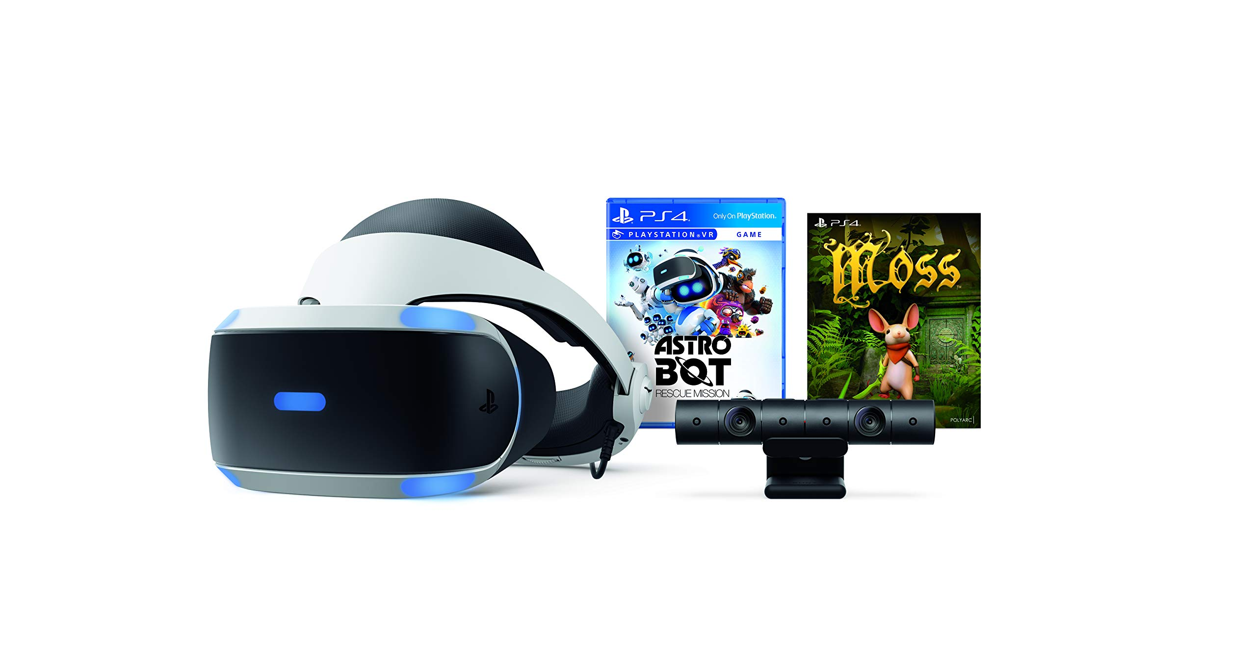 PlayStation VR - Astro Bot Rescue Mission + Moss Bundle by Sony