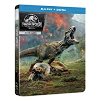 Jurassic World : Fallen Kingdom [Édition SteelBook Blu-ray + Digital]