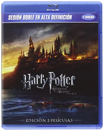 Pack Harry Potter Y Las Reliquias De La Muerte Partes 1 + 2 Bluray ...