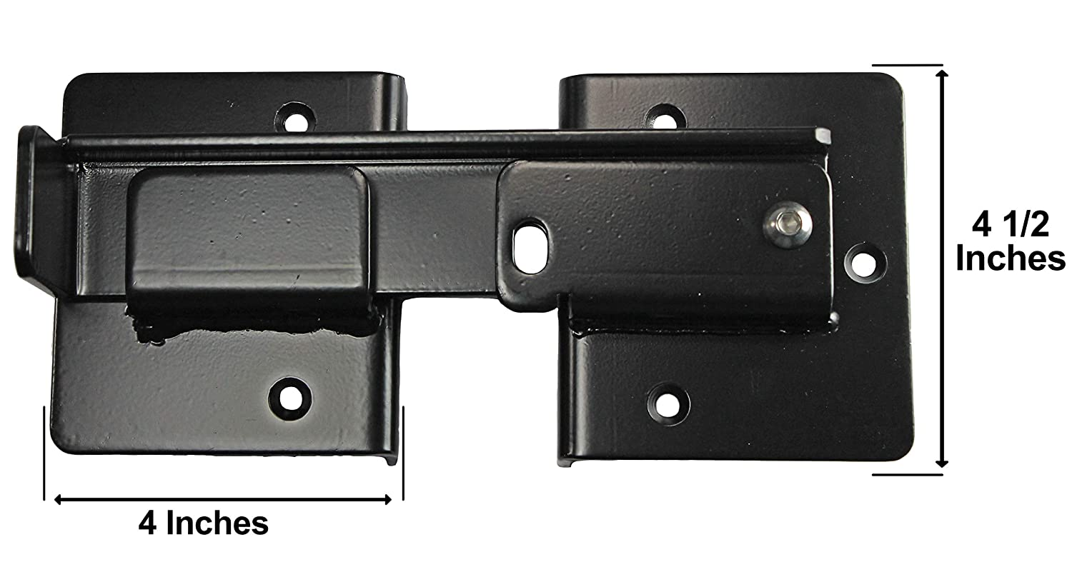Double Gate Flip Sentry Gate Latch - Flip Latch, Latches Two