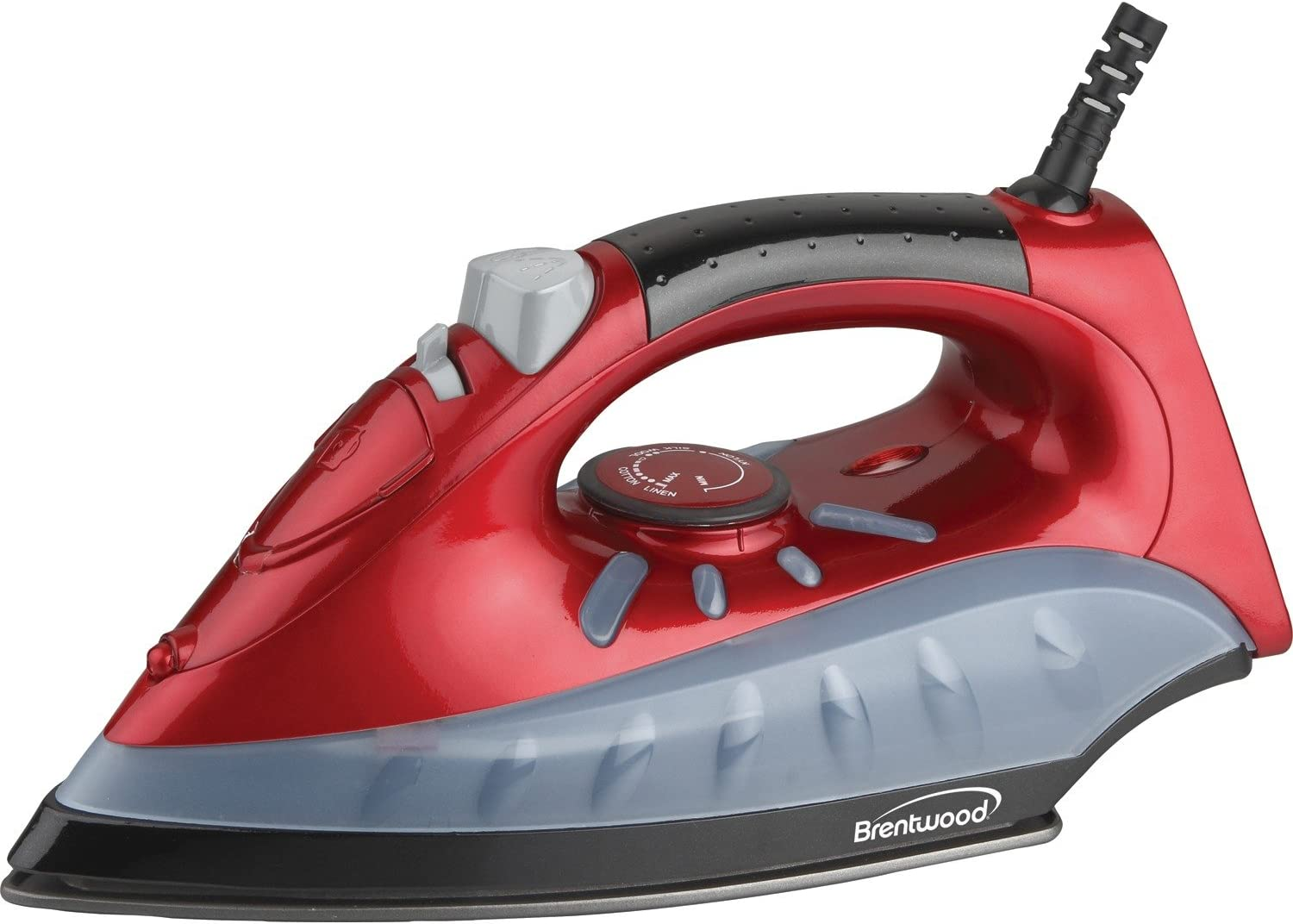 Brentwood MPI-61 Non-Stick Steam Iron Red
