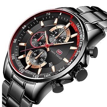Reloj Ultra Fino para Hombre Minimalista Lujo Moda Relojes de Pulsera Hombres Vestir Casual Impermeable Reloj de Cuarzo Hombre con Banda de Acero Inoxidable ...