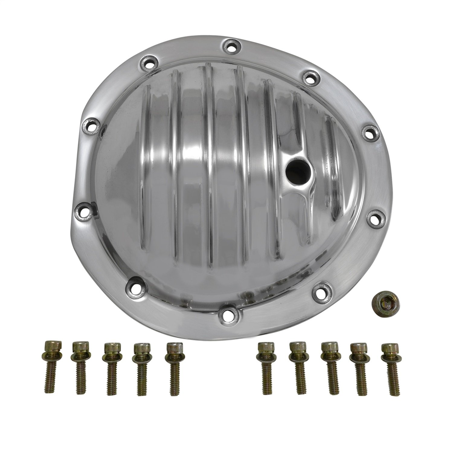 Yukon (YP C2-GM8.5-F) Polished Aluminum Cover for GM 8.5'' Differential