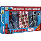 SDCC Gentle Giant 2016 Exclusive Marvel Comics Deadpool Secret Wars Micro Bobble 3 Pack