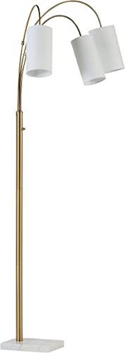 Amazon Brand Rivet 3-Light Arc Floor Lamp