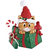 Veritical stacked kitty cats whimsical cute for Cat outdoor christmas decorations