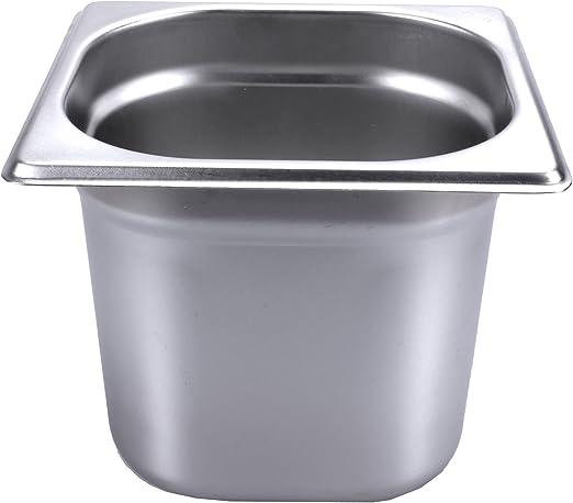 4 Stk 1 //B Cambro Kunststoff GN-Behälter 1//6-150 schwarz Gastronormbehälter