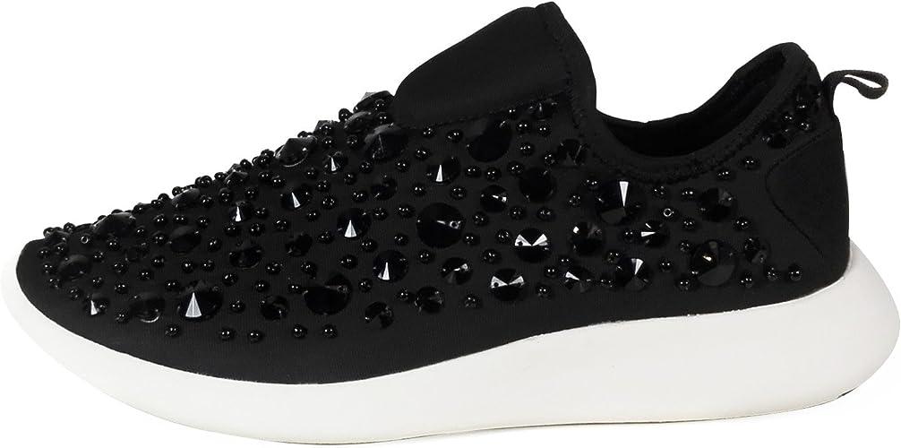 Zara Women Beaded Sneakers 6704/201 (41