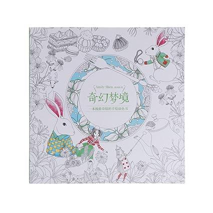 Lamdoo Fantástico Libro de Colores para niños y Adultos, 25 x 25 cm ...