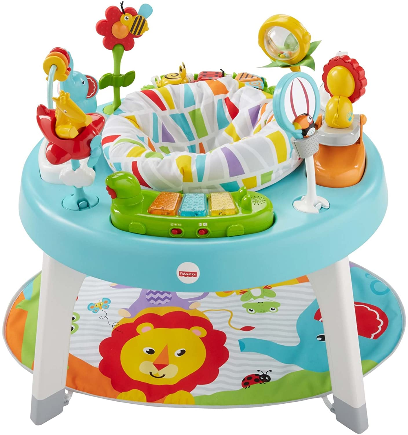 Amazon.com : Fisher-Price 3-in-1 Sit-to-Stand Activity Center, Jazzy ...