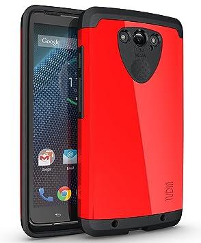 TUDIA Motorola DROID Turbo Funda, Caja protectora Slim-Fit CYGEN de doble capa para