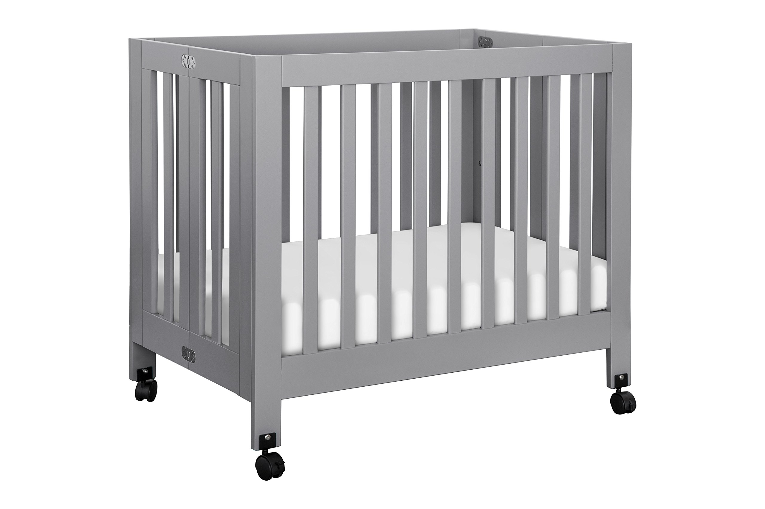 overstock free crib mini today origami and garden kalani twin product in shipping bed home davinci