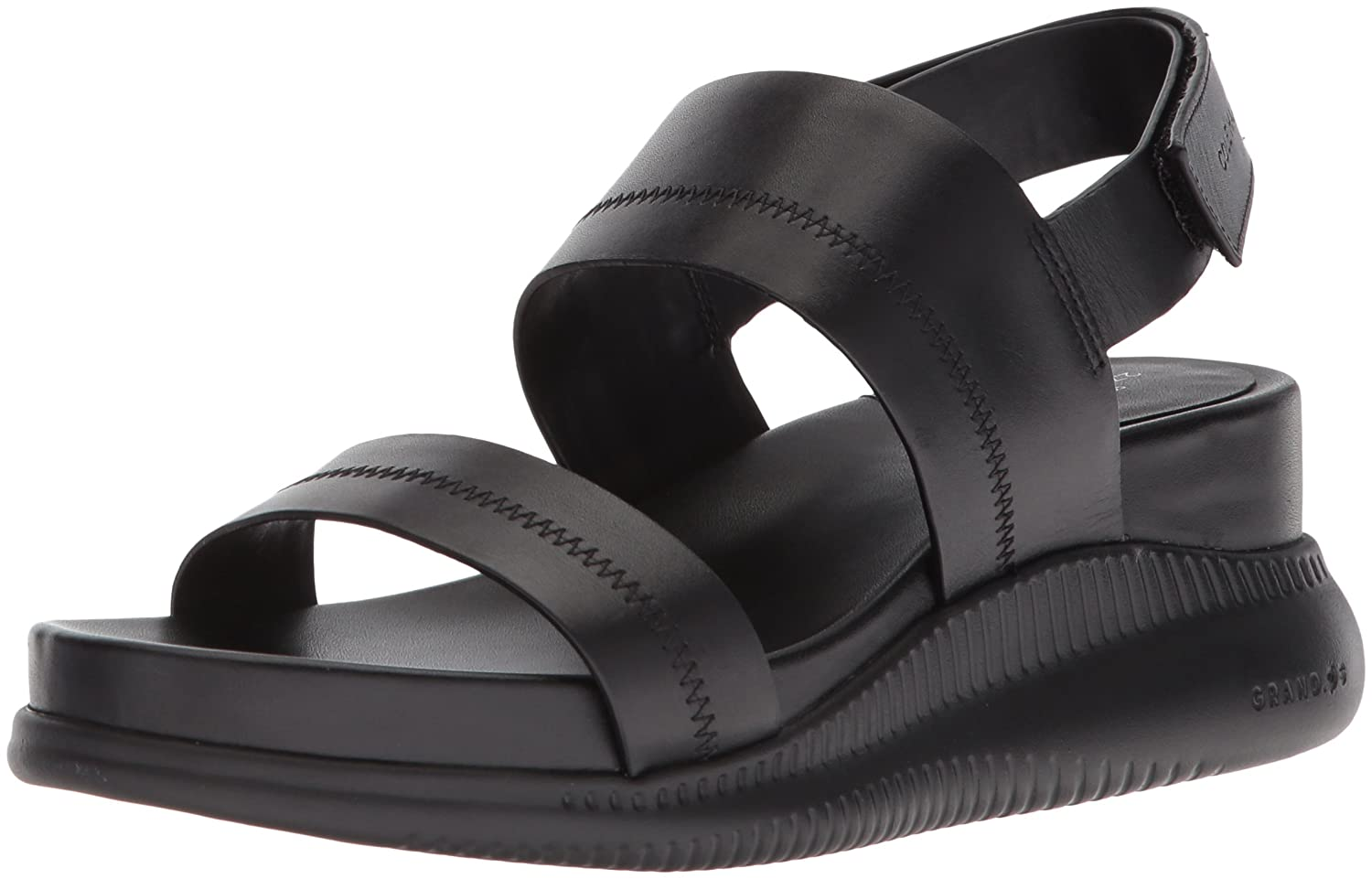 Cole Haan Women's 2.Zerogrand Slide Sport Sandal, Black Leather B073WPDM3B 7 B(M) US|Black Leather