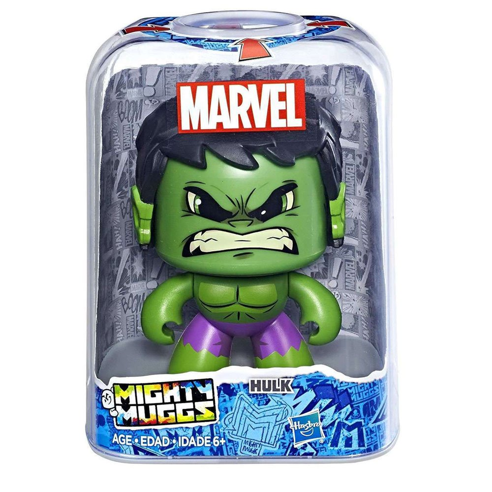 Amazon.com: Mighty Muggs – Marvel (Hasbro e2122eu4): Toys ...