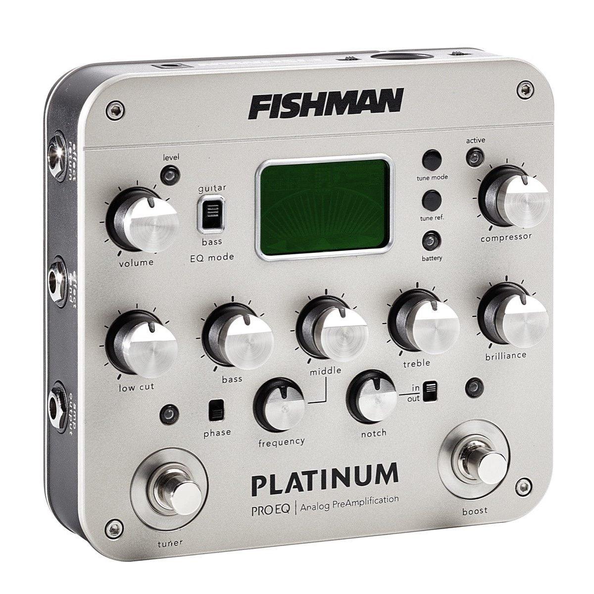 Fishman Platinum Pro EQ/DI Analog Preamp Fishman Transducers Inc. PRO-PLT-201