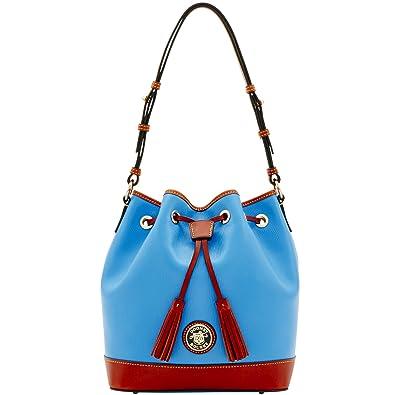 3ef7cdea43 Amazon.com: Dooney & Bourke Retro Embossed Drawstring Shoulder Bag: Shoes