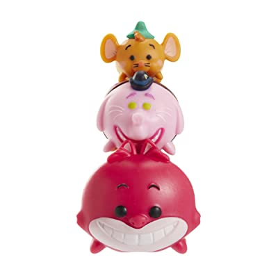 Tsum Tsum 3-Pack Figures: Cheshire/Bing Bong/Gus: Toys & Games