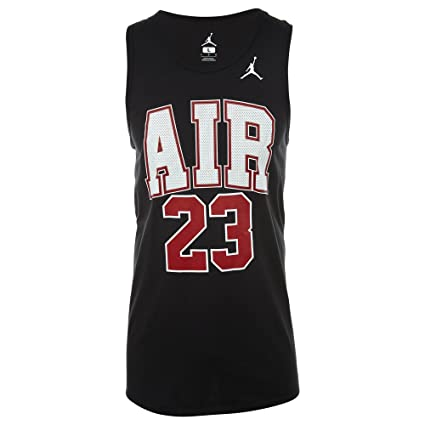 cheap prices cozy fresh delicate colors Nike Débardeur Jordan Air 23 pour Homme XXL Noir: Amazon.fr ...