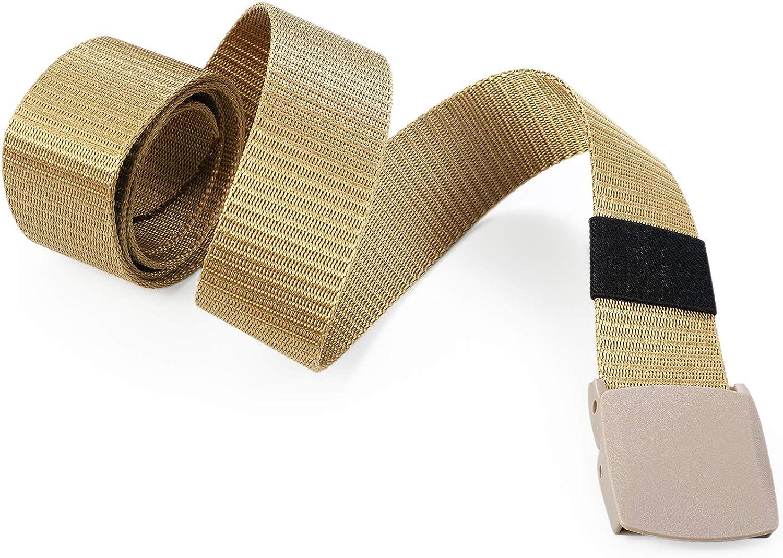 Aroncent Cintura tattica militare di Nylon Uomo Outdoor Resistente Regolabile tessuto in plastica,Colore a scelta