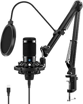 JEEMAK Professional Condenser Microphone Set