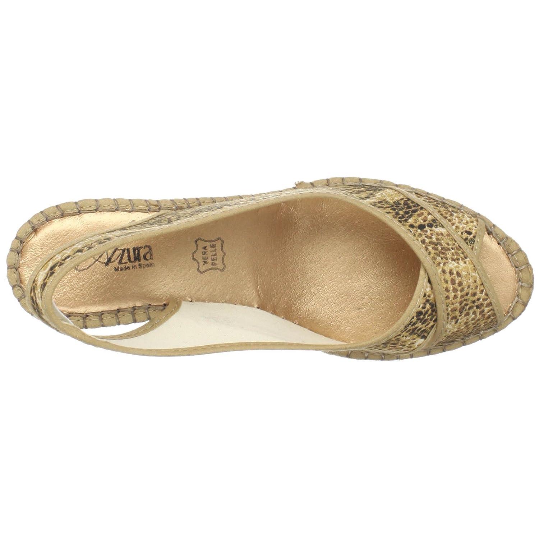 LOVOZO Fashion Womens Shoes Stretch Fabric Ladies Casual Sandals Summer Beach Sandals Beige