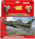 Airfix 1:72 Scale English Electric Lightning F.2A Starter Gift Set