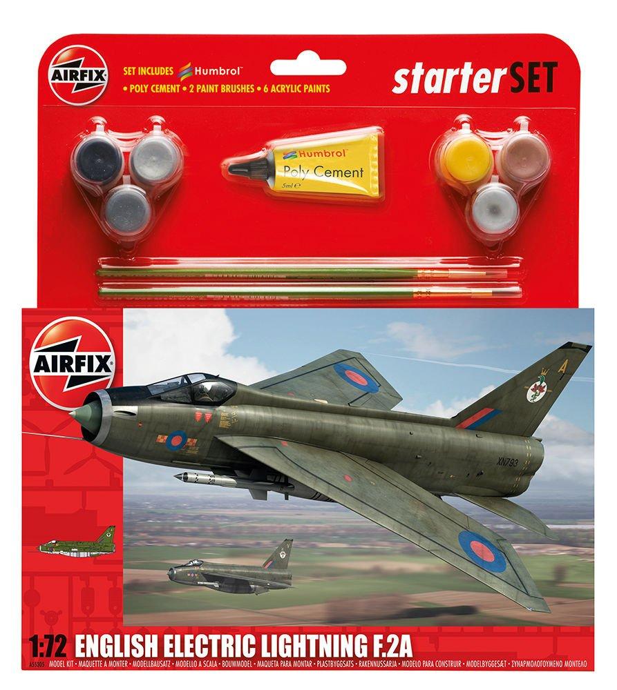 Vuelta de 10 dias Airfix - Kit Grande Grande Grande con Pinturas, avión English Electric Lightning F2A (Hornby A55305)  precios razonables