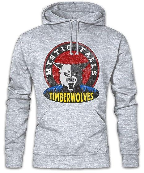 Urban Backwoods Mystic Falls Timberwolves Hoodie Hooded Sweatshirt