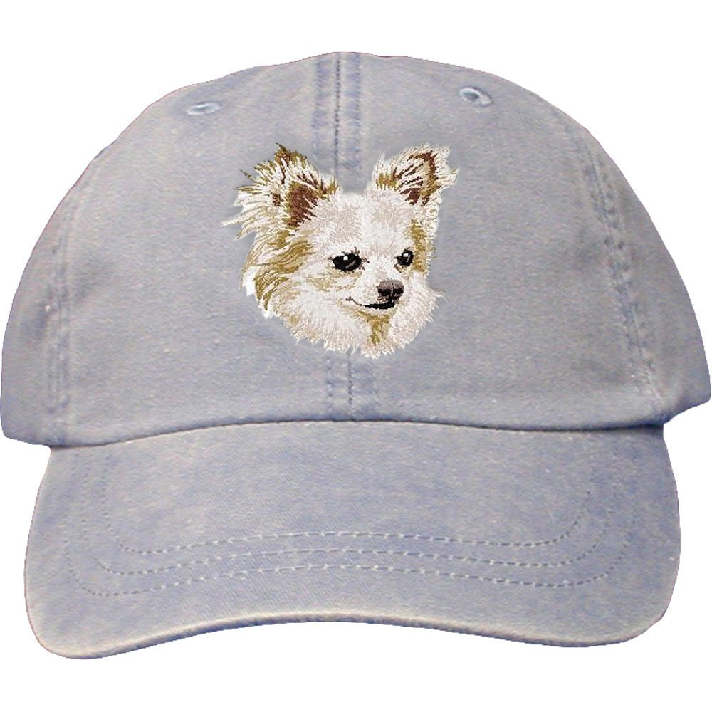 All Breeds Cherrybrook Periwinkle Dog Breed Embroidered Adams Cotton Twill Caps