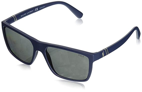 Polo Ralph Lauren Herren Sonnenbrille 0Ph4110 50172O, Braun (Jerry Tortoise/Darkbrownmirgoldpolar), 50