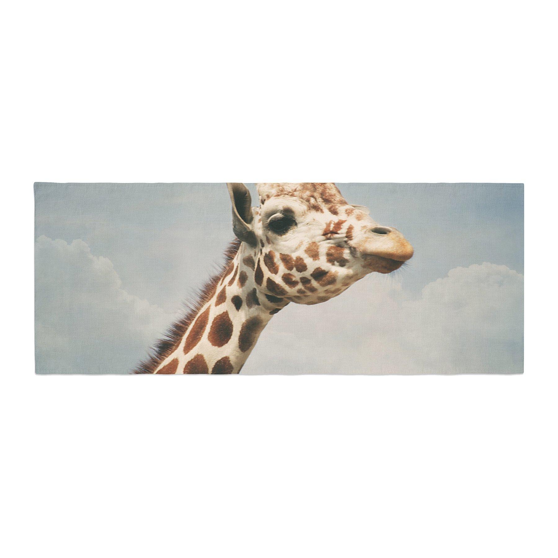 Kess InHouse Angie Turner Giraffe Animal Bed Runner, 34'' x 86''