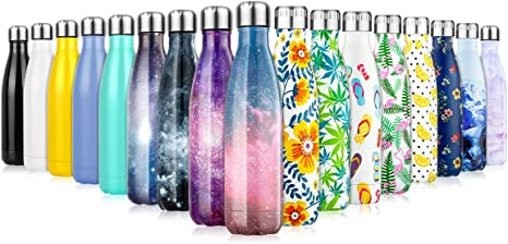 Running Insulated Stainless Steel Water Bottle 350//500//750 ml Gym School Sports Leakproof Double Walled Vacuum Flask Metal Water Bottles for 12 Hours Hot /& 24 Hours Cold Drinks Bottle for Kids