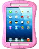 iPad Mini Case, iXCC Shockproof Silicone Protective Case Cover for iPad Mini, Mini 2, Mini 3 and iPad Mini Retina Models - Pink