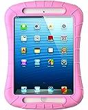 iPad Mini Case, iXCC Shockproof Silicone Protective Case Cover for iPad Mini, Mini 2, Mini 3and iPad Mini Retina Models - Pink