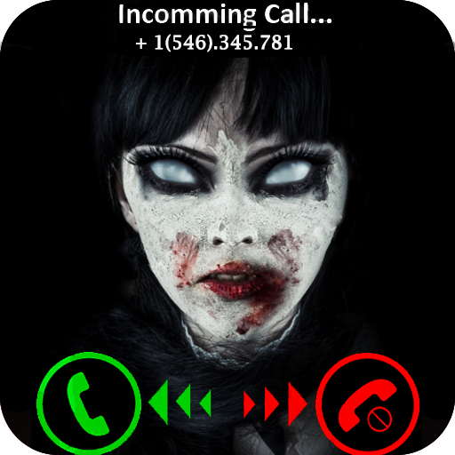 Incoming Real Live Voice Fake Calls From SCARY GHOST KILLER - Free