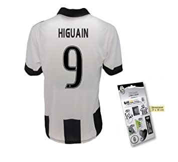 Juventus Football Jersey REPLICA Jersey HIGUAIN Adult STICKERS-Official  products 5e647b52419